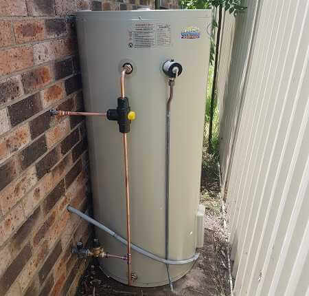 Rheem Aquamax 250 Chain Valley Bay install