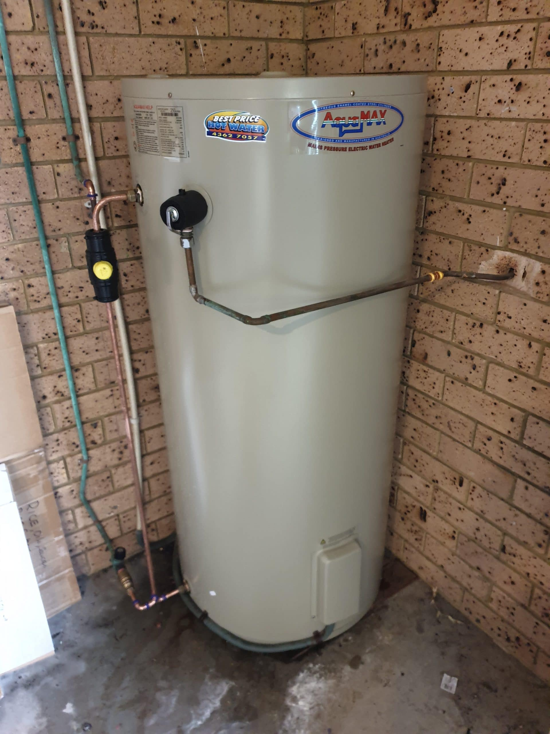 Hot Water Install Ourimbah