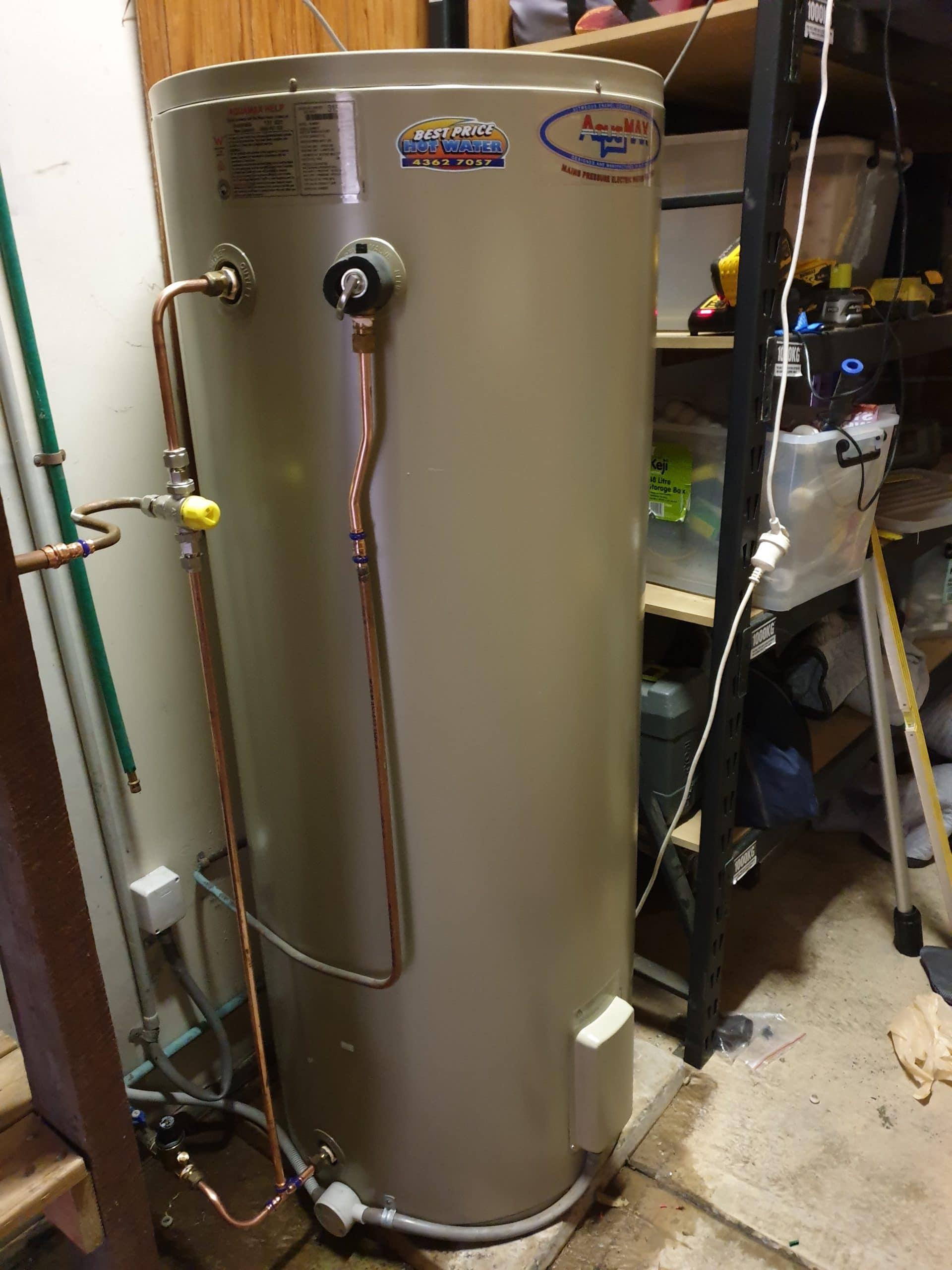 Rheem Aquamax Chittaway Bay Install